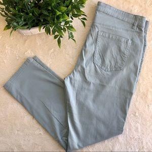 Buffalo David bitton Green blue daily ankle jeans